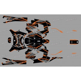 Kit dekor Factory Edition (Orange) - IDgrafix - Can Am Ryker 600/900