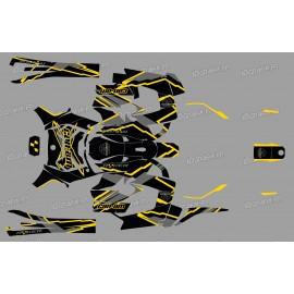 Kit dekor Factory Edition (Gelb) - IDgrafix - Can Am Ryker 600/900