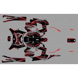 Kit decoration Factory Edition (Red) - IDgrafix - Can Am Ryker 600/900-idgrafix