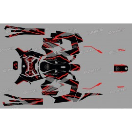 Kit dekor Factory Edition (Rot) - IDgrafix - Can Am Ryker 600/900
