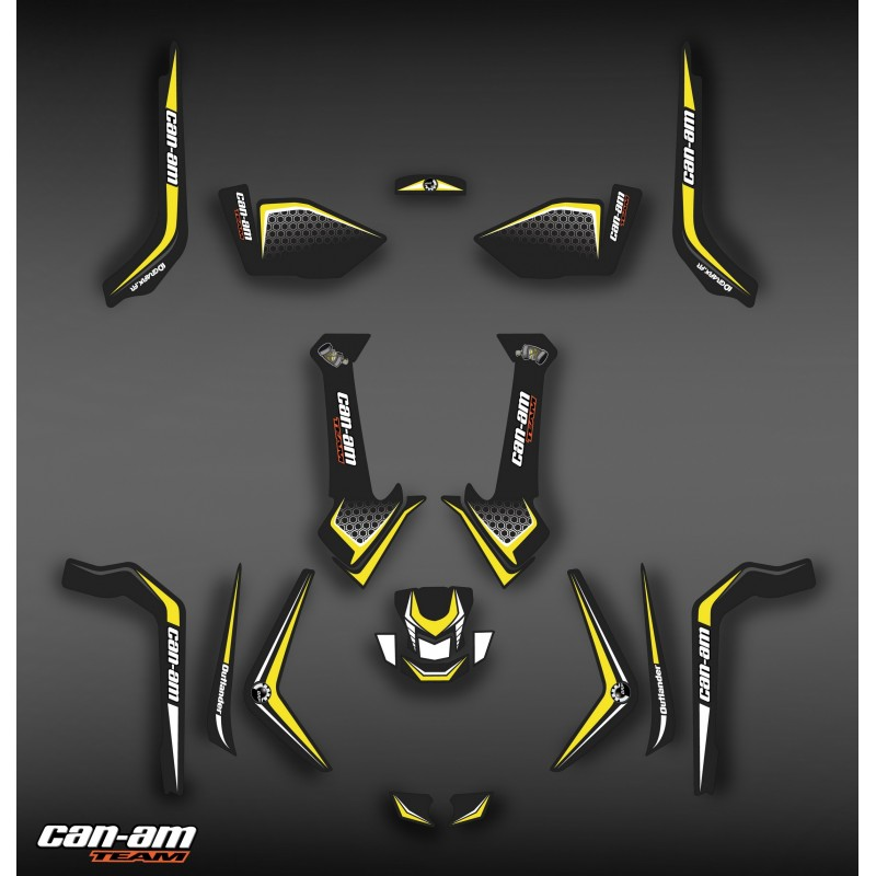 Kit décoration Light X Limited Edition - IDgrafix - Can Am Outlander (G2)-idgrafix