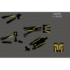 Kit deco GP Edition complet (groc) - Levo especialitzat (després del 2022) -idgrafix