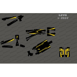 Kit-deco GP Edition Full (Gelb) - Specialized Levo (nach 2022)
