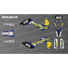 Kit decoració Factory S Race Edition (Blau) - Sherco 125-250-300-450 -idgrafix