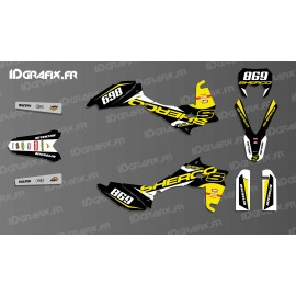 Kit dekor Factory S Race Edition (Schwarz) - Sherco 125-250-300-450
