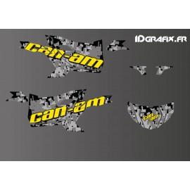 Kit decoració Edició digital Camo (groc) - Idgrafix - Can Am Maverick SPORT -idgrafix