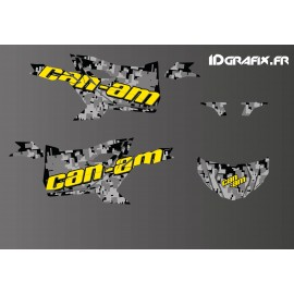 Kit dekor Camo Digital Edition (Gelb) - Idgrafix - Can Am Maverick SPORT