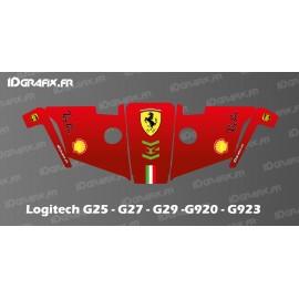 Etiqueta Scuderia F1 Edition: volant Logitech Simulator G25-27-29-920-923 -idgrafix