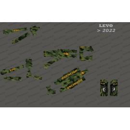 Kit deco Army Edition complet (verd) - Levo especialitzat (després del 2022) -idgrafix
