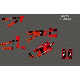 Kit deco Brush Edition Full (Red) - Specialized Levo (after 2022)