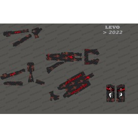 Kit deco Carbon Edition Full (Red) - Specialized Levo (after 2022)
