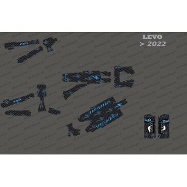 Kit-deco-Carbon Edition Full (Blau) - Specialized Levo (nach 2022)