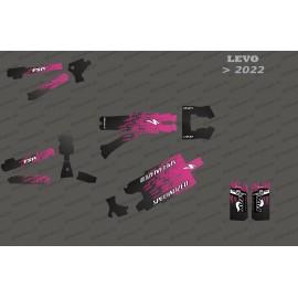 Kit déco Levo Edition Full (Rose) - Specialized Levo (après 2022)