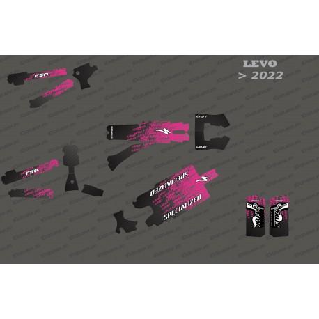 Kit deco Levo Edition Full (Pink) - Specialized Levo (after 2022)-idgrafix