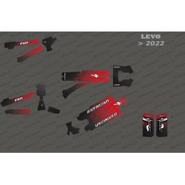 Kit deco Levo Edition complet (vermell) - Levo especialitzat (després del 2022) -idgrafix
