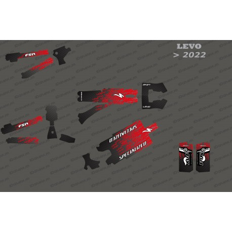 Kit deco Levo Edition Full (Red) - Specialized Levo (after 2022)-idgrafix