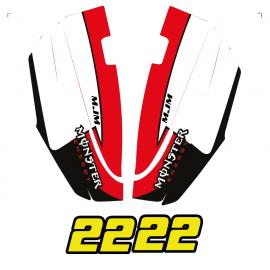 Kit dekor Unten Hülle Yamaha SuperJet 700 -idgrafix