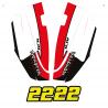 Kit décoration Bas Coque Yamaha SuperJet 700