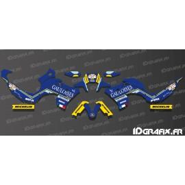 Kit-deco Dakar Gauloises Edition (Blau) für Yamaha Ténéré 700 (nach 2019)