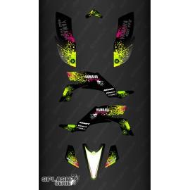 Kit dekor Splash series (Schwarz) - IDgrafix - Yamaha YFZ 450 / YFZ 450R