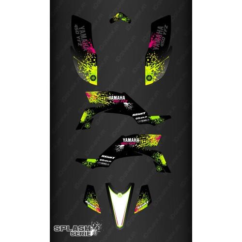 Kit dekor Splash series (Schwarz) - IDgrafix - Yamaha YFZ 450 / YFZ 450R-idgrafix