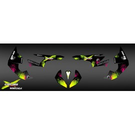 Kit decoration Yellow Splash Series - IDgrafix - Can Am Renegade