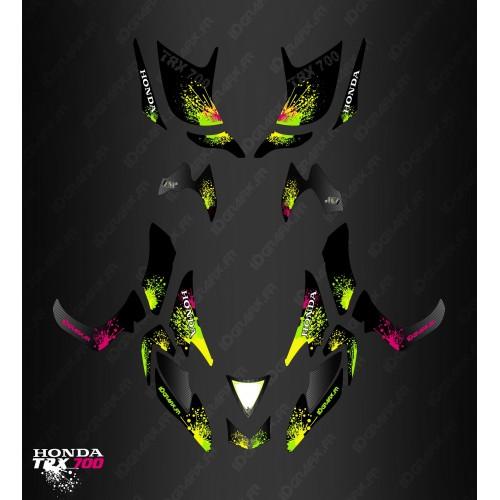 Kit de decoración de la Salpicadura de la serie - IDgrafix - Honda TRX 700xx -idgrafix