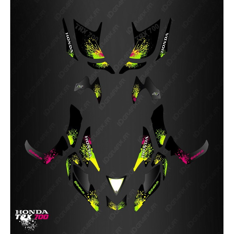 Kit décoration Splash series - IDgrafix - Honda TRX 700xx-idgrafix
