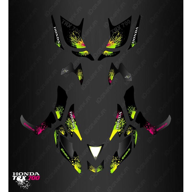 Kit de decoració Splash de la sèrie - IDgrafix - Honda TRX 700xx -idgrafix
