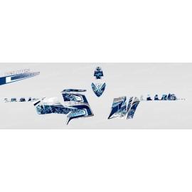 Kit décoration Camo (Bleu) - IDgrafix - Polaris 850 /1000 XPS