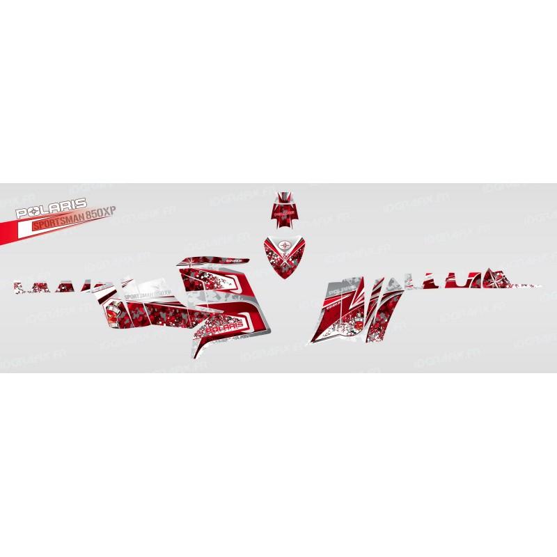 Kit decoració D (Vermell) - IDgrafix - Polaris 850 /1000 XPS -idgrafix