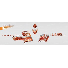 Kit dekor Camo (Orange) - IDgrafix - Polaris 550 XPS