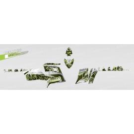 Kit dekor Camo (Grün) - IDgrafix - Polaris 550 XPS
