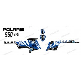 Kit décoration Street (Bleu) - IDgrafix - Polaris 550 XPS