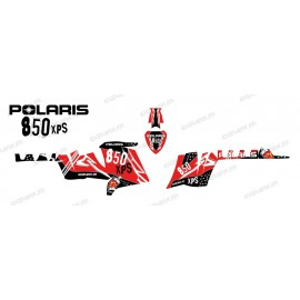 Kit dekor Street (Rot) - IDgrafix - Polaris 550 XPS