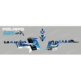 Kit decoration Space (Blue) - IDgrafix - Polaris 550 XPS