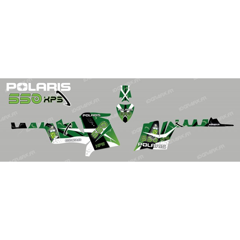 Kit decoration Space (Green) - IDgrafix - Polaris 550 XPS-idgrafix
