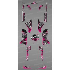 Kit de decoració Rosa Tag - IDgrafix - Polaris 800 Esportista