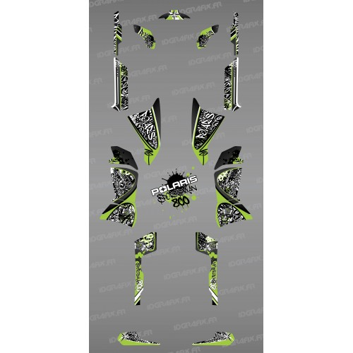 Kit decorazione Tag Verde - IDgrafix - Polaris Sportsman 800 -idgrafix
