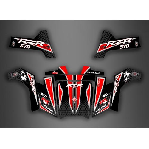 Kit Luce della decorazione Race Edition - IDgrafix - Polaris RZR 570 -idgrafix