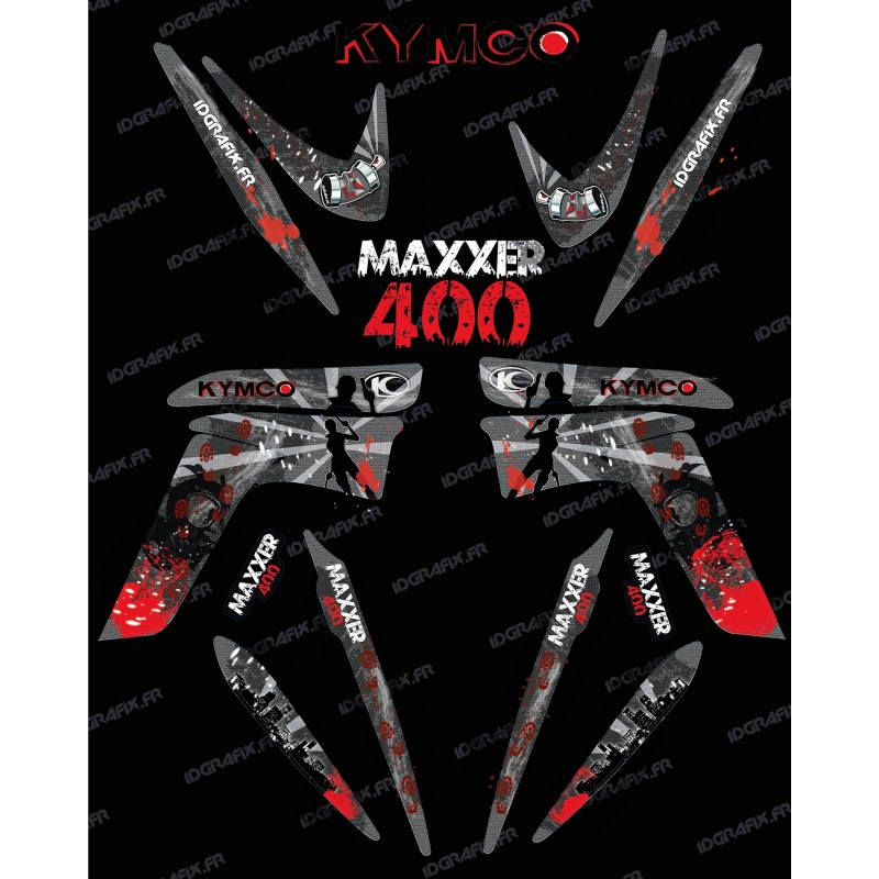 Kit de decoració Supervivent - IDgrafix - Kymco 400 Maxxer -idgrafix