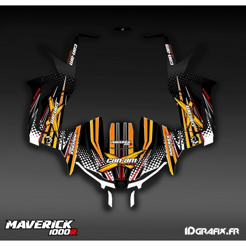 Kit décoration Bubble Jaune - Idgrafix - Can Am 1000 Maverick
