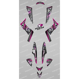 Kit de decoració Tribal Rosa - IDgrafix - Kymco 250 KXR/Maxxer