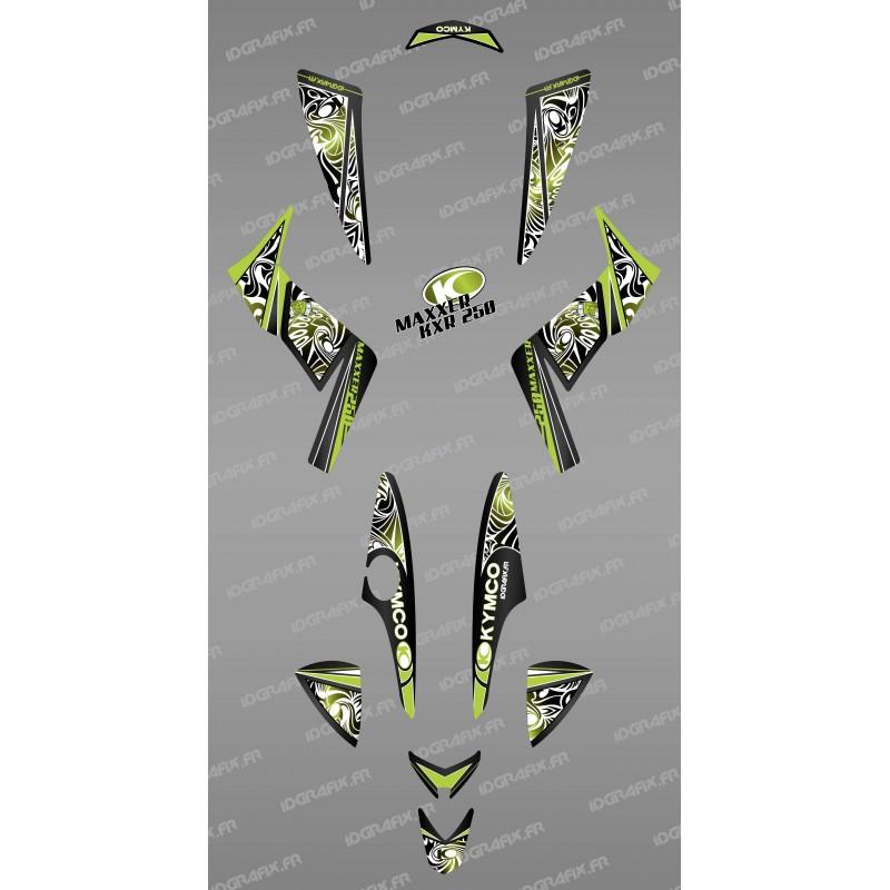 Kit de decoració de la Tribu Verda - IDgrafix - Kymco 250 KXR/Maxxer -idgrafix
