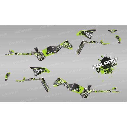 Kit decorazione Tag Serie (Verde) Luce - IDgrafix - Polaris Sportsman 570 -idgrafix