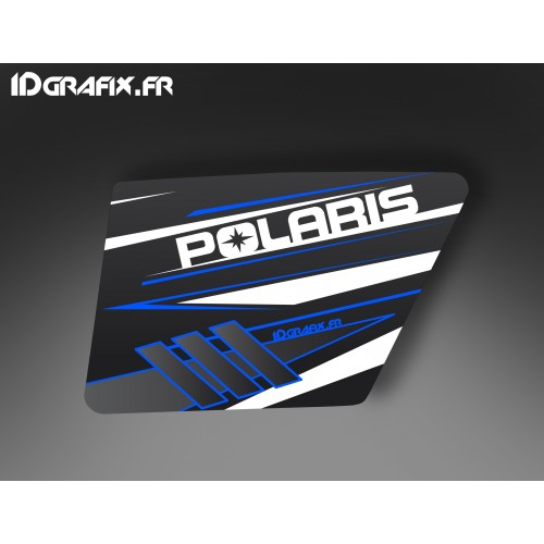 Kit décoration Blue Porte XRW Normale - IDgrafix - Polaris RZR 800 -idgrafix
