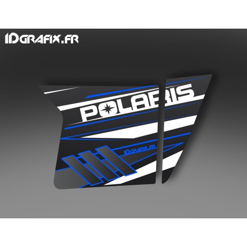 Kit décoration Blue Porte XRW Suicide - IDgrafix - Polaris RZR -idgrafix