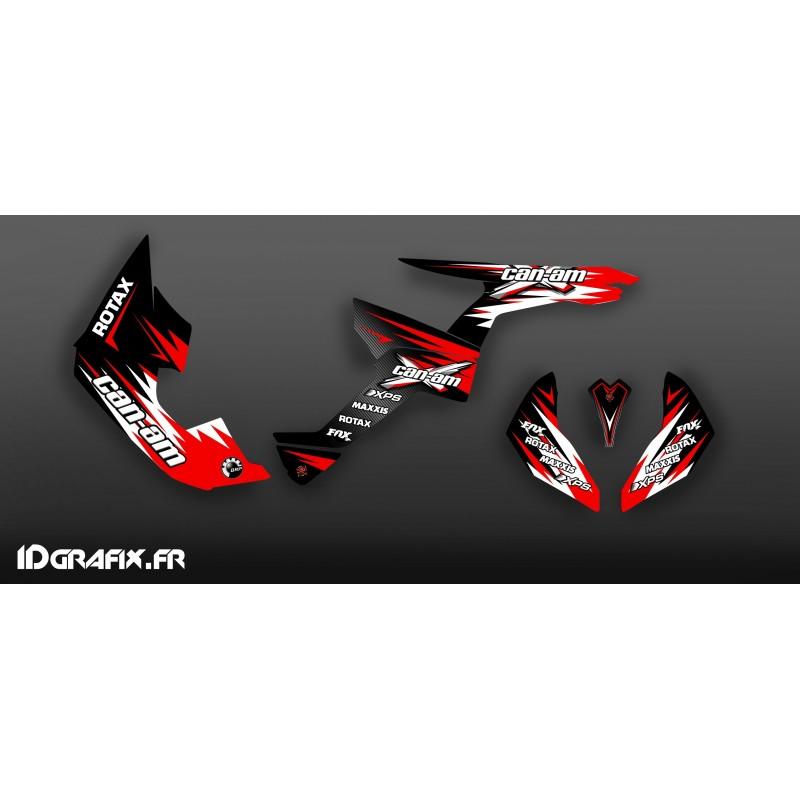 Kit de decoració Cursa Vermell Sèrie Mitjà - IDgrafix - Am Renegade -idgrafix