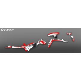 Kit de decoració Vermella Limitat Llum - IDgrafix - Polaris 570 Esportista