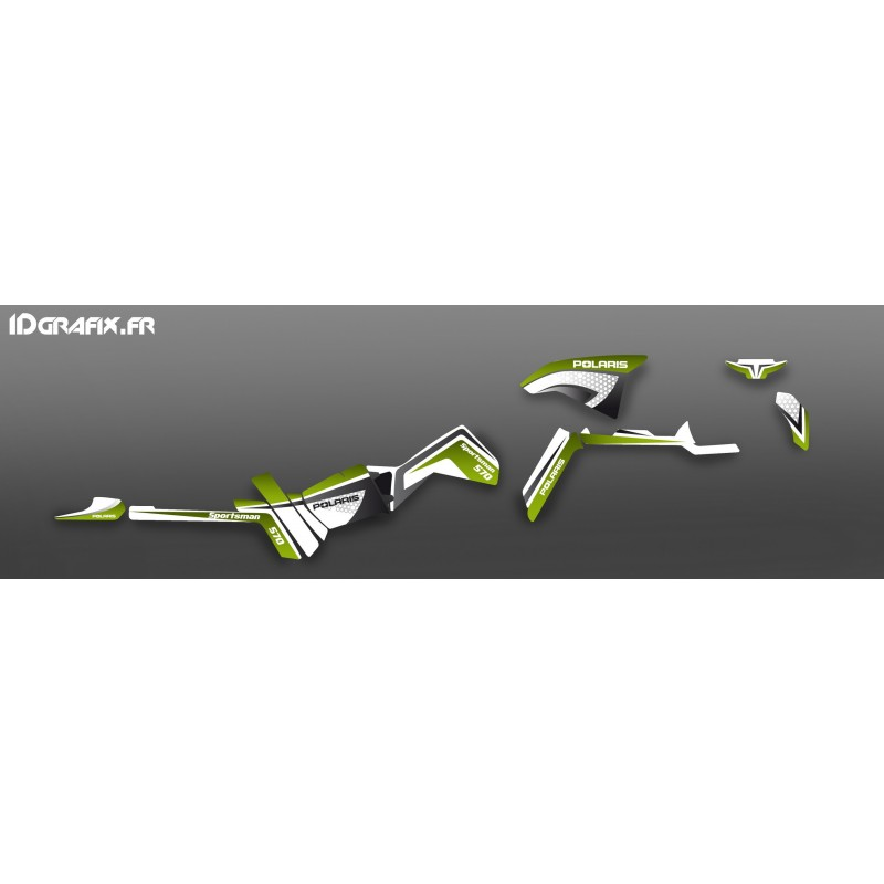 Kit de decoració Verda Limitada Llum - IDgrafix - Polaris 570 Esportista -idgrafix